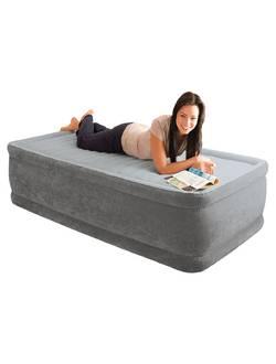 Кровать со встроенным насосом 99х191х46, Twin Comfort-Plush, Intex 64412