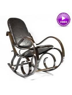 Кресло-качалка Calviano M198 (светло-коричневое)