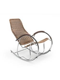 Кресло-качалка Halmar Ben, материал ротанг