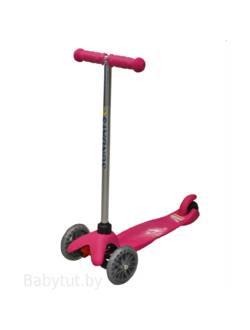 Самокат для детей 5-12 лет розовый , Sundays SA-100A-1