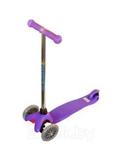 Самокат для детей 5-12 лет фиолетовый, Sundays SA-100A-5