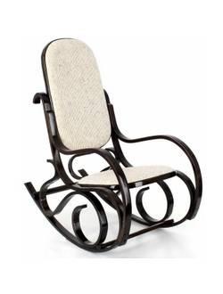 Кресло-качалка R1 (ротанг темн.)