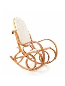 Кресло-качалка Relax M196 (вельвет) светлый