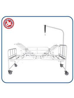 Кровати медицинские для лежачих больных с двумя подъемными секциями КРМК-3 и КРМК-3мк