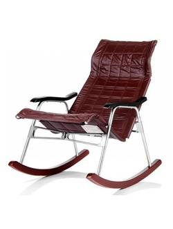 Кресло-качалка складное Платон (коричневое)