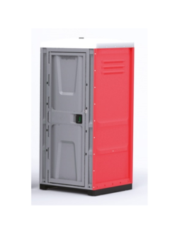 Туалетная кабина Toypek красная (разобранная)