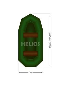 Надувная лодка Helios Гелиос-23