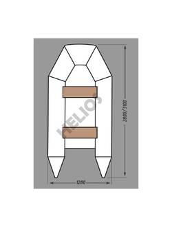 Надувная лодка Helios Гелиос-28