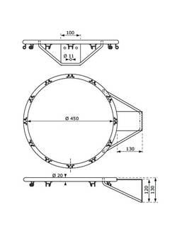 Баскетбольное кольцо KBT