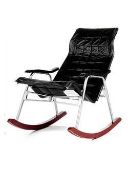 Кресло-качалка складное Платон (черное)