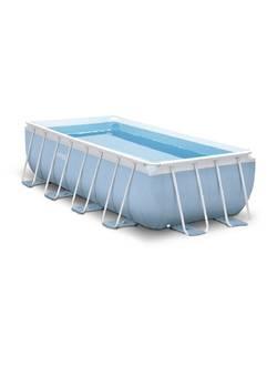 28314 Надувной бассейн PRISM FRAME POOL, 300x175x80см, Intex + фильтр-насос, лестница