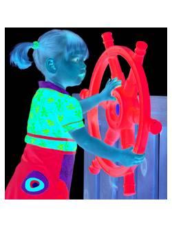 Детский пластиковый штурвал Star