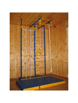 Детский спортивный комплекс Городок Т-образный с сеткой 60 см