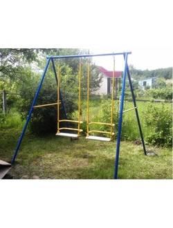"""Качели детские двухместные """"Double Space"""" УК02"""