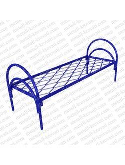 Кровать металлическая одноярусная КП-2