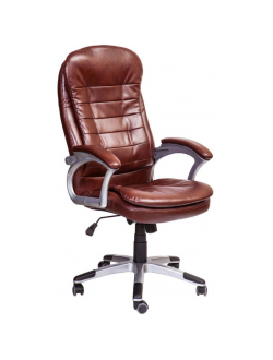Офисное кресло Mio Tesoro Димас AOC-8257 (коричневый)