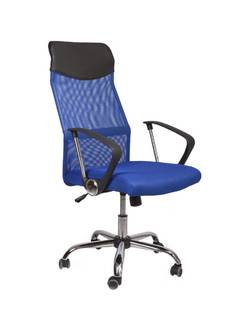 Офисное кресло Mio Tesoro Фредо AOC-8648 (черный/голубой)