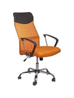 Офисное кресло Mio Tesoro Фредо AOC-8648 (черный/оранжевый)