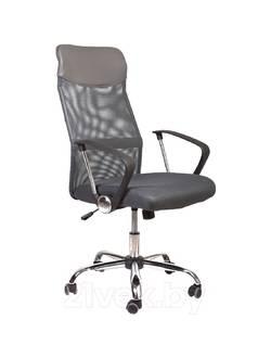 Офисное кресло Mio Tesoro Фредо AOC-8648 (серый/серый)
