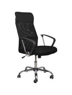 Офисное кресло Mio Tesoro Фредо AOC-8648 (черный/черный)