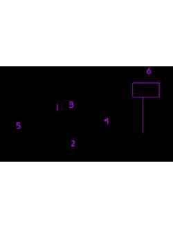 Устройство крепления троса для канатной дороги (круглый брус)
