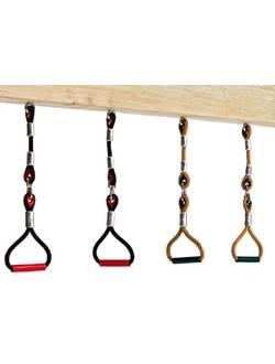 Гимнастические кольца из армированного каната вращающиеся