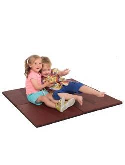 Резиновая плитка Hicar для детской площадки