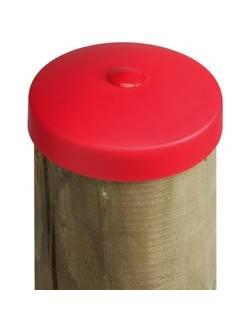 Заглушка (крышка) пластиковая наружная круглая 100 мм (М)