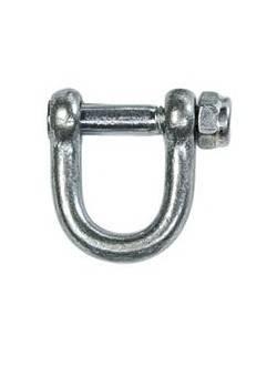 Скоба такелажная (нержавеющая сталь) 18х12 мм