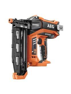 Гвоздезабивной пистолет аккумуляторный электро-пневматический AEG B16N18-0 (без аккумулятора и ЗУ)