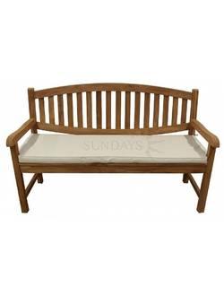 TGF-029 B Садовая скамья с подушкой LION 150см Indoexim, дерево тик