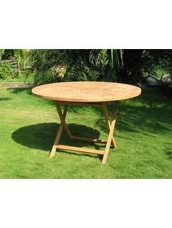 TGF-016 C Садовый складной стол Sundays, тик из Индонезии