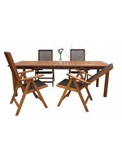 89425/88814 Комплект садовой мебели Sundays COMPLIMENT (4 стула), акация из Малайзии