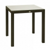 13349 Садовый стол из ротанга Garden4you WICKER 73х73х71, коричневый