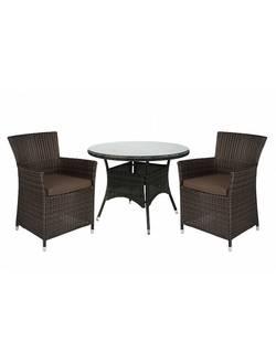 13323/1269 Комплект садовой мебели из ротанга Garden4you WICKER (4 кресла)
