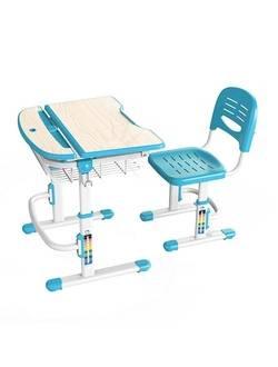 Детский комплект мебели Sundays C302-B, голубой (парта+стул)