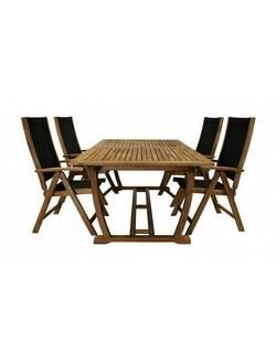 Комплект садовой мебели Garden4you FUTURE 27821/2782, акация (8 стульев)