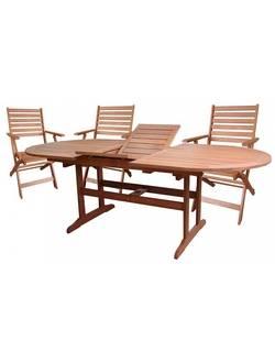 Комплект садовой мебели Sundays AWARD2 89546/89563 (6 стульев), акация из Малайзии