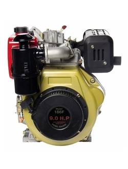 Дизельный двигатель Zigzag SR186FD
