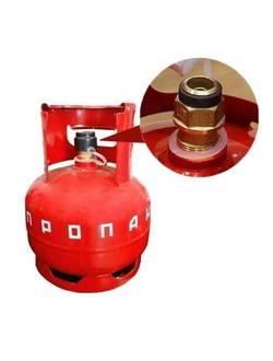 Газовый баллон 5 л с КБ-2 (клапан)
