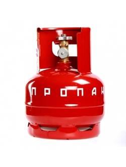 Газовый баллон 5 л с ВБ-2 (вентиль)