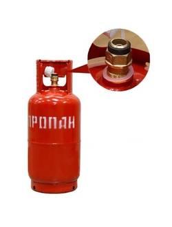 Газовый баллон 12 л с КБ-2 (клапан)
