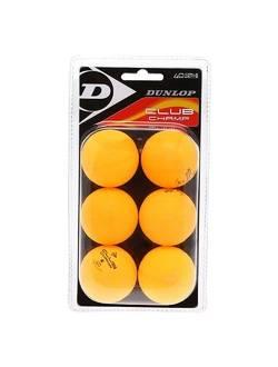 Мячи для настольного тенниса Dunlop CLUB Champ(6шт.)