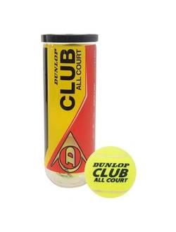 Мячи для большого тенниса, DUNLOP Club All Court, 3 шт