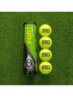 Мячи для большого тенниса, DUNLOP Fort All Court, 4 шт