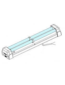 Облучатель бактерицидный ультрафиолетовый ОБУ-30-21П Витязь