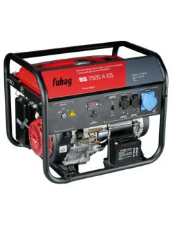 Бензогенератор FUBAG BS 7500 A ES с электростартером и коннектором автоматики