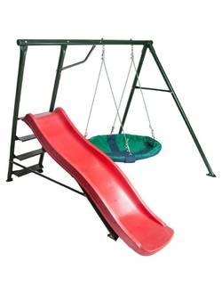 Детский игровой комплекс Радуга с993 (скат 1,75м)