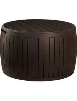 Стол-сундук CIRCA WOOD BOX, коричневый