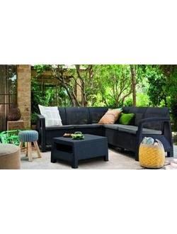 Комплект мебели Corfu Relax Set (Корфу Релакс), капучино